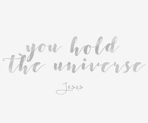 god jesus universe faith image