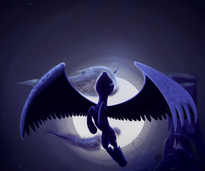MLP, princess luna, and my little pony image