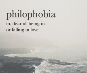 phobia, wallpaper, and philophobia image