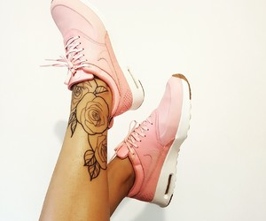 tattoo inspiration and pink nike image