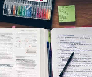 college, colorful, and motivation image