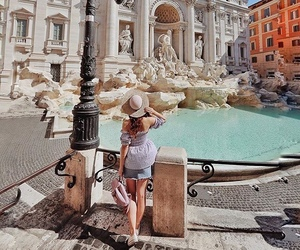 italy, travel, and roma image