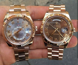 gold and rolex image