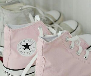 all star, converse, and summer cosmetics image
