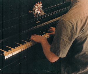boy, piano, and music image