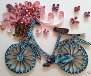 diy, bike, and craft image