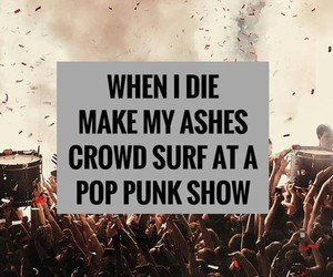 concert, crowd surf, and me image