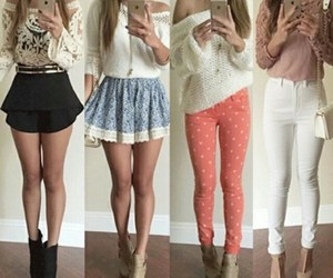 fashion, girly clothes, and white image