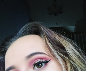 eye, makeup, and shadow image