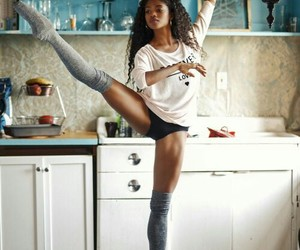 dance, pointe, and legs image