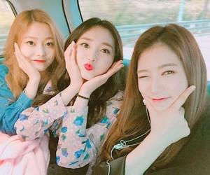 rena, eunwoo, and kyulkyung image