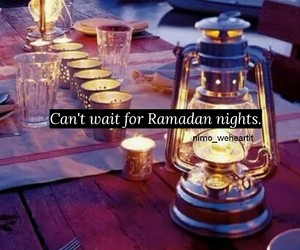 night, Ramadan, and blessings image