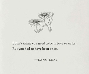 inspiration, Lang Leav, and poetry image