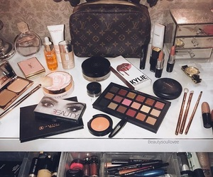 beauty, Louis Vuitton, and makeup image