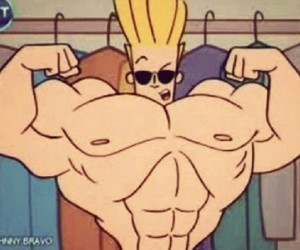 90's, cartoon network, and muscles image