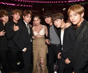 bts, halsey, and jungkook image