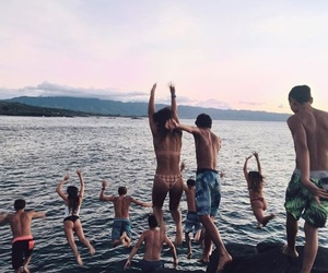 friends and summer image