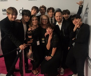 army, bbma, and kpop image