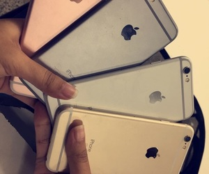 gold, iphone, and rosegold image