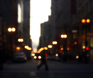 cars, lights, and night image