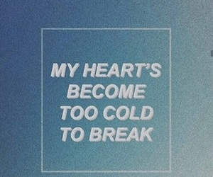 cold, heart, and grunge image