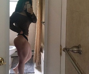 booty, weight lifting, and fit image