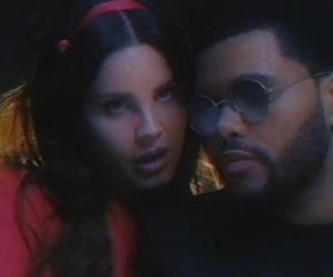 lust for life, lana del rey, and the weeknd image