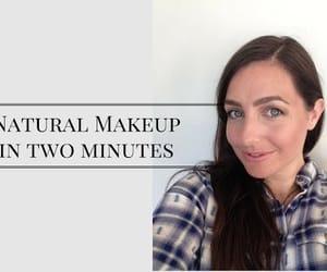 video, natural makeup, and makeup tutorial image