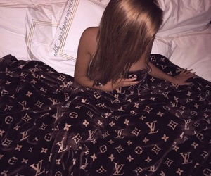 luxury, bed, and Louis Vuitton image