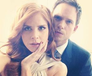 suits, donna, and mike image
