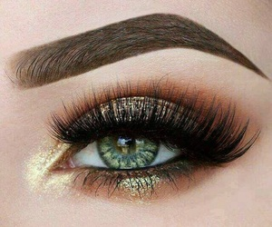 eye, flawless, and make up image