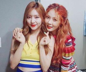 hyuna, haein, and laboum image