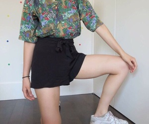 fashion, outfit, and retro image