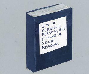 book, reasons, and terrible image