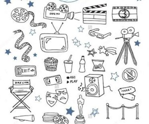 doodles, movie, and serie image