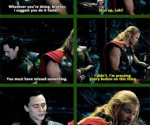 Avengers, brothers, and thor image