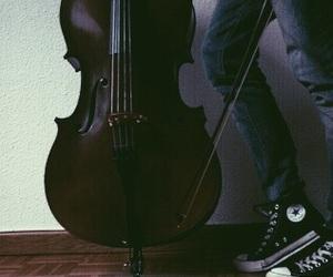 cello and converse image
