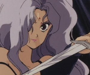 aesthetic, anime, and retro image