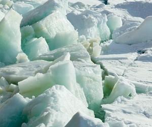 frozen, ice, and iceberg image