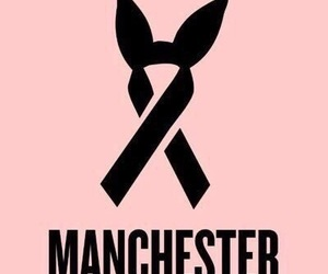 manchester, ariana grande, and pray image