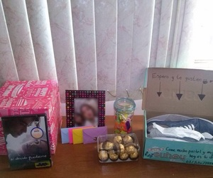 candy, gift, and letters image