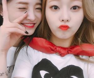 eunwoo, kyulkyung, and pristin image