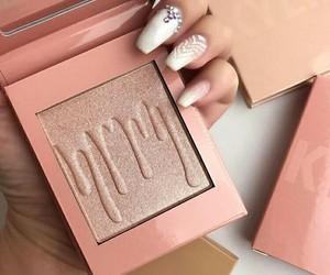cosmetic, makeup, and pinkrose image