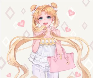 sailor moon, usagi tsukino, and anime image