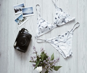 beautiful, bikini, and color image