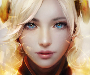 art, fanart, and mercy image
