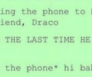 draco malfoy, funny, and harry potter image