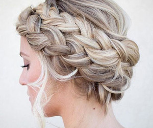 french braid crown image