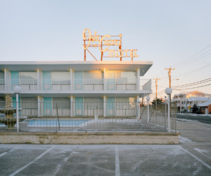 motel, New Jersey, and pastel image