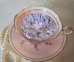 diamond, aesthetic, and pink image